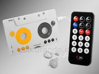 Free Shipping Cassette type mp3 fm transmitter trainborn mp3 cassette player cassette machine mp3 player