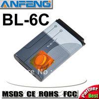 1150mAh battery BL-6C BL6C for nokia 2110/2116/2125/6016i/6019i/6152/6155/6165/6235/6255/6265/6275/6268/E70 2pcs/Lot free ship
