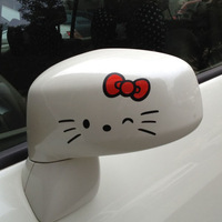 Kitty rearrests car stickers hello kitty car sticker a pair