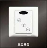 HD34  Remote control switch infrared home  3 way digital switch Wireless switch free shipping
