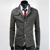 hot sale Highquality men's clothing Fashion suit Men's Business Suit Set blazer slim casual suits for men