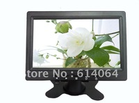 free shipping 7 inch  mini VGA  monitor with new led 16:9 wide panel