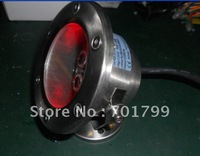 6*1w RGB LED underwater light,D120*H90mm;DC12-24V input,can be controlled by common rgb controller or dmx decoder