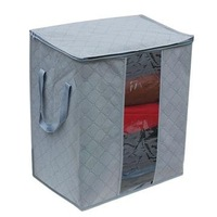 Hotsale  Bamboo charcoal clothes storage bag 65 L sweater pocket transparent inspection receive storage box ST0005
