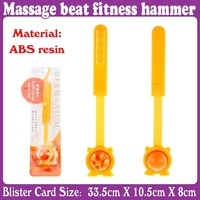 3pcs/Lot_telescopic massager relax Meridian Massage body beat fitness hammer_Free Shipping