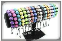 Shambala Charm Disco Ball Bead Bracelet New T-Paris Shambhala Rhinestone Crystal Fashion Jewelry Shamballa