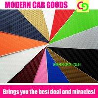 wholesale 14 colors to choose 1.27 x 30m 3d carbon fiber vinyl film car vinyl car wrap practicable car stickers