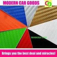 high quality 1.52 x 30m thickness 0.2mm 3d carbon fiber vinyl film car vinyl car wrap practicable car stickers with air drains