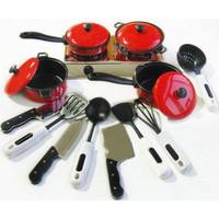 Free shipping best novelty gift children toy artificial plastic 13-piece kitchen tableware
