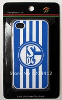 Schalke 04 Football Club Soccer Hard Phone Cover Mobile Case For Apple iphone 4 4s