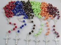 Rosary necklace catholic rosary necklace pendant