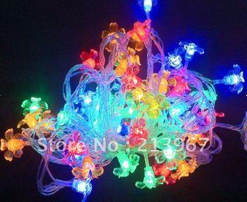 Christmas decoration RSunflower shape led string light