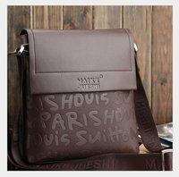 New! Fashional leisure Man's shoulder bag .fashion brown messenger bag 27x23x6cm free shipping MB68