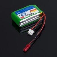 2s 7.4V 900mAh LiPo Battery For RC HELICOPTER - LAMA V3 15C AKKU V4 MYSTERY BRAND
