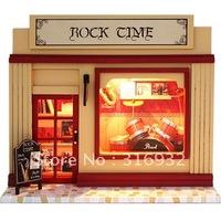 N3 Retail Creative mini diy European shop series-- rock time, DIY toy