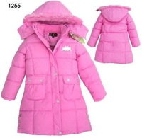 junior girls warm coat overcoat jacket for kids children winer thick hoody outfit baby clothng outwear zsf free shipping
