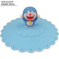 Free shipping 10 DORAEMON three-dimensional lid