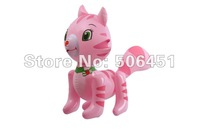 2012 hot sale,free shipping,pvc inflatable animal for kids , inflatable product  Strawberry cat toy,new arrival,