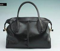 Shanai Genuine leather  women woman  briefcase handbag   messenger  shoulder  bag JX0099-185black