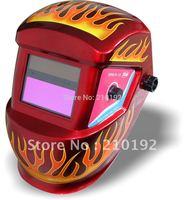 Cheap fire apperance Li Battery+Solar auto darkening welding helmet/face mask for plasma cutter & TIG MMA MIG welding  Machine