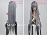 Diffuse beautiful wig changan magic night li reed {langya} / final fantasy/silver grey alternate with/cosplay wig