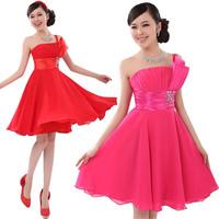 short formal dresses evening dress 2014 new arrival plus size wedding gowns short design chiffon party dresses