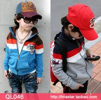 5pcs/lot wholesale 2014 autumn new arrival children's clothing/boys and girls jacket/children clothes