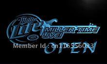 miller neon lights promotion