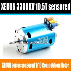 XeRun 1/10 Competition Scale RC Car Sensored Brushless Motor 10.5T 3300KV(China (Mainland))