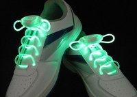 400 pcs(200 pairs)/lot 2012 newest 3G hot olive LED flashing Glow shoes laces fashion DISCO Party Skating-Free shipping