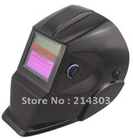 Cheap Li batery+Solar auto darkening face mask/welding helmet /welding goggles for the MIG TIG welding machine and plasma cutter