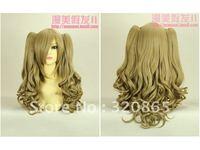 Diffuse beautiful wig COS wig brown lolita wig lolita curl cosplay wig