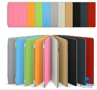 Magic Genuine Smart Cover Leather / Polyurethane Magnetic PU Leather Case/ Stand 10 Colors Available