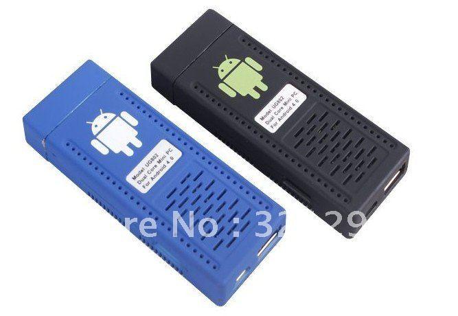 Mini PC UG802 Dual Core RK3066 1.6GHz Cortex-A9 Dual Stick MK802 III Android 4.0 IPTV HDD Player TV Box(China (Mainland))