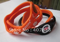 freeshipping,power force NCAA New Teams bands of south carolina gamecocks,CLEMSON TIGERS,200pcs/lot