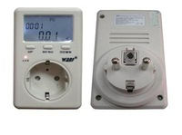 1pcs/lot.free ship.240V WATT Power Energy Voltage Meter Monitor LED EU Plug. EU WF-D02B.
