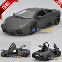 Lamborghini scrub black gift box alloy car mold