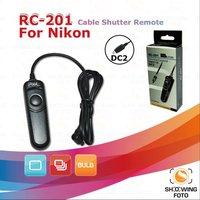 Pixel RC201 DC2 wired cable shutter remote for Nikon D7000,D5100,D5000,D3200,D3100,D90