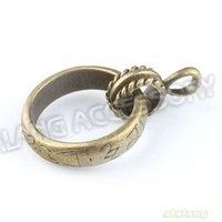 Fashion 21pcs/lot Circular Charm Antique Bronze Plated Charms Zinc Alloy Fashion Jewelry Pendants Fit DIY143223