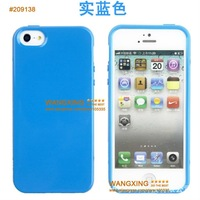 For iPhone 5 5G TPU Case, Clean Design, 9 Colors, Good Quality, Free Shipping, Retail, Drop Shipping, Wholesale