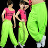 Summer thin loose casual pants neon hiphop jeans hiphop hip-hop pants hypertensiveperson pants wide leg pants