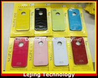 Free shipping 20pcs/lot  NEW SGP case for iphone 5 Candy color cover