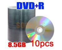 10pcs/lot 8.5G Blank Discs Recordable Printable DL DVD-R DVD+R DVDR Disc Disk 8.5GB Free Shipping & Drop Shipping