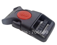 Free Shipping!100pcs per lot,3/4 inch Plastic side release lock buckles,high quality,wholesale bag accessories