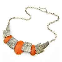 Wholesale Europe Style Statement Necklace Charming Resin Necklace Fashion jewelry Free Shipping FN38