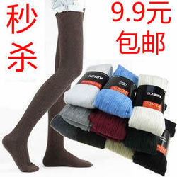 frree shipping promotion 100% cotton panty hose for women stockings legging backing pants(China (Mainland))