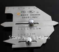 HJC60 Welding Gauge Weld bead height welding seam gap Ruler Gage Metric