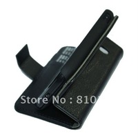 Free shipping New Lychee PU Wallet Leather Case For Samsung Galaxy Ace 2 i8160