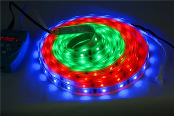 5050 RGB Digital led strip,HL1606 IC,controlled by DMX with 3 years warranty