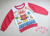 8872 child baby spring and autumn long-sleeve 100% cotton t-shirt loop pile cotton pullover top